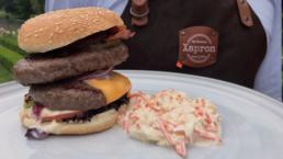 BBQ recept - Burger with the lot - Ik BBQ voor Jou