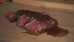 BBQ recept - gegrilde bavette - Ik BBQ voor Jou