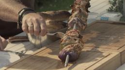 BBQ recept -mega kip-sjaslick - Ik BBQ voor Jou